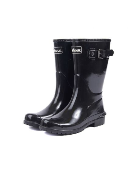 Barbour Primrose Black Wellington Boots