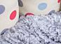 Petface Cream Polka Dot Oval Dog Bed