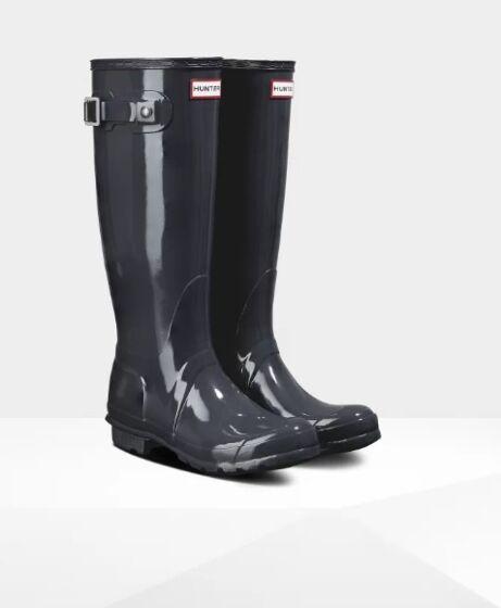Hunter Women's Original Tall Gloss Boot Luna