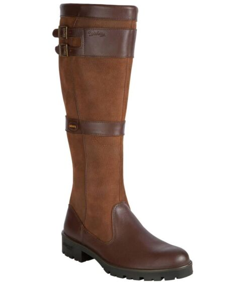 Dubarry Longford Leather Boot Walnut