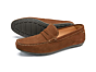 Loake Goodwood Moccasin Shoe Brown Suede