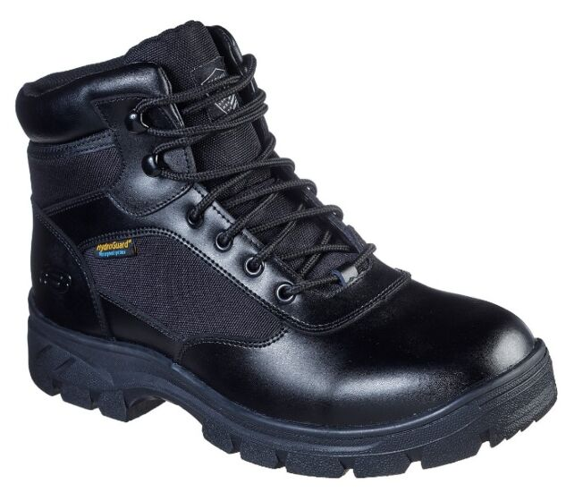 Skechers Work Relaxed Fit: Wascana - Benen WP Tactical Black