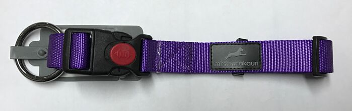 Miro & Makauri Nylon Safety Collar Purple