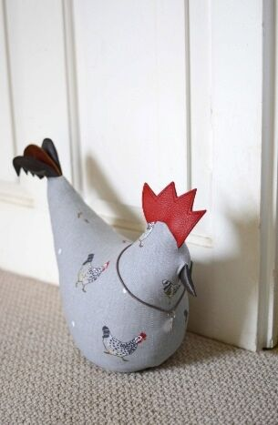 Sophie Allport Chicken Door Stop