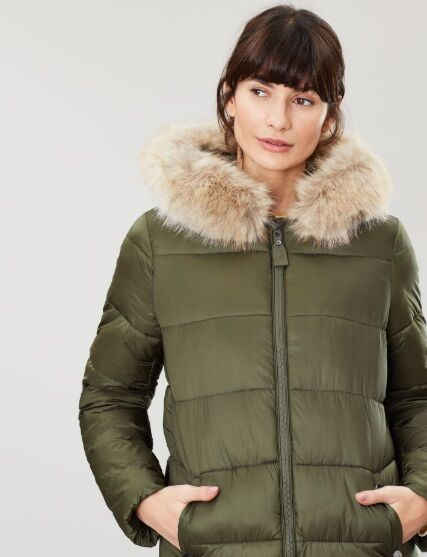 Touchline Padded Hooded Coat With