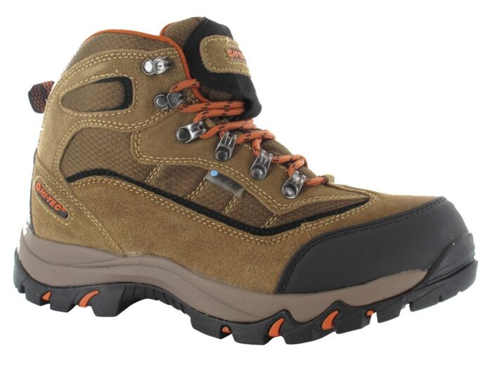 Hi-Tec Mens Keswick Boot Brown/Orange