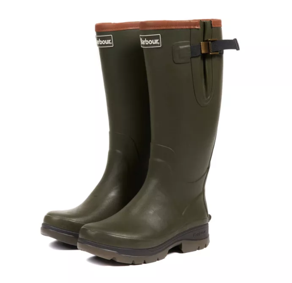 Barbour Men's Tempest Wellington Boot Olive