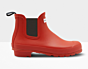 Hunter Original Chelsea Boots Military Red