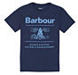 Barbour Boys Reed Tee Navy