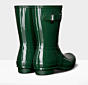Hunter Original Gloss Short Boot Hunter Green