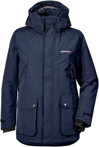 Didriksons Phil Parka Jacket Navy
