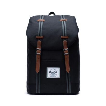 Herschel Retreat Mid Volume Backpack Poly Black/Tan