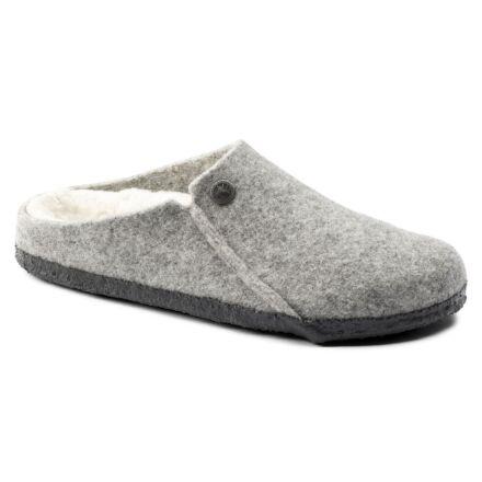 Birkenstock Zermatt Shearling Slippers Light Grey