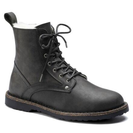 Birkenstock Bryson Shearling Lace Up Boot Graphite