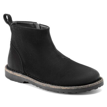 Birkenstock Melrose Suede Ankle Boot Black
