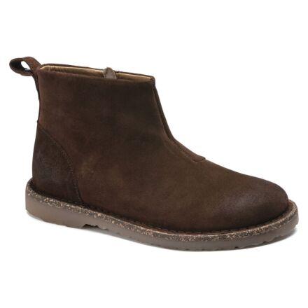 Birkenstock Melrose Suede Ankle Boot Espresso