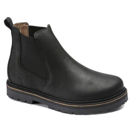 Birkenstock Stalon Lenu Chelsea Boots Black
