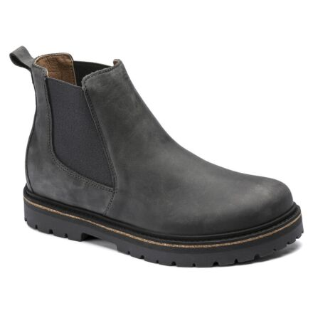 Birkenstock Stalon Lenu Chelsea Boots Graphite