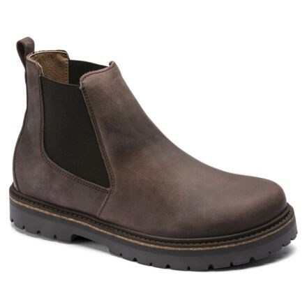 Birkenstock Stalon Lenu Chelsea Boots Mocca