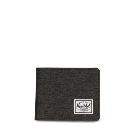 Herschel Roy Wallet Black/Crosshatch