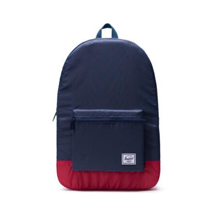 Herschel Packable Daypack Ripstop Navy/Red