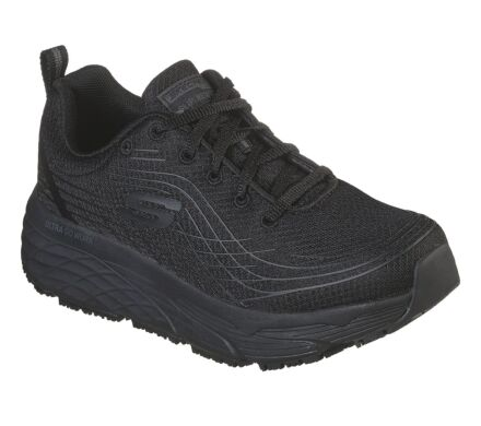 Skechers Work Relaxed Fit: Max Cushioning Elite SR Black