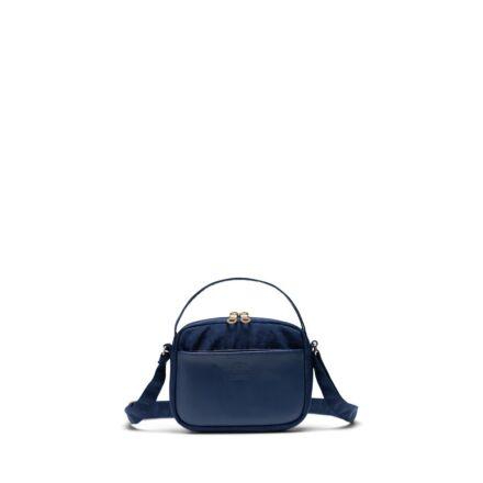 Herschel Orion Crossbody Mini Bag Nylon/Leather Peacoat