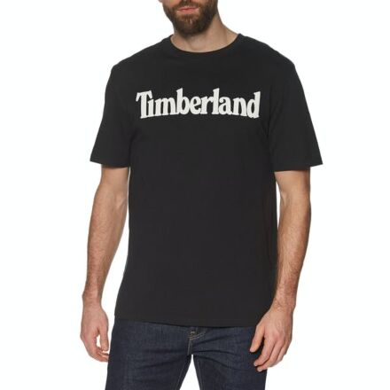 Timberland Kennebec River Brand Linear Tee Black