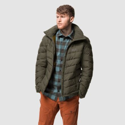 Jack Wolfskin Men's Fairmont Down Jacket Bonsai Green