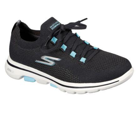 Skechers GoWalk 5 - Uprise Black/Turquoise