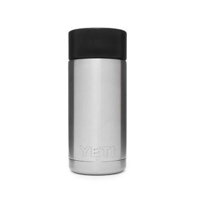 Yeti Rambler 12oz Bottle with Hotshot Cap Stainless Steel