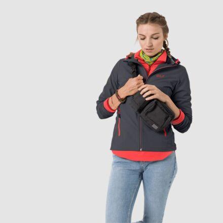 Jack Wolfskin Women's Turbulence Jacket Ebony