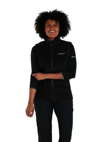 Berghaus Women's Prism Polartec Interactive Fleece Vest Black