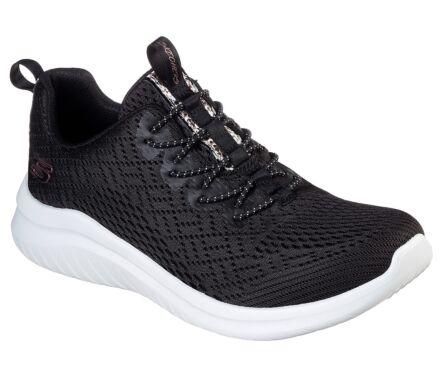 Skechers Women's Ultra Flex 2.0 - Lite-Groove Black/White