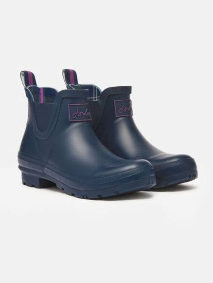 Joules Wellibob Short Height Wellies French Navy