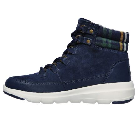Skechers Glacial Ultra Peak Lace Up Boot Navy