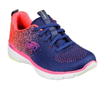 Skechers Flex Appeal 3.0 - She's Iconic Navy/Coral