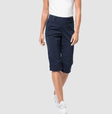 Jack Wolfskin Women's Activate Light  ¾ Pants Midnight Blue