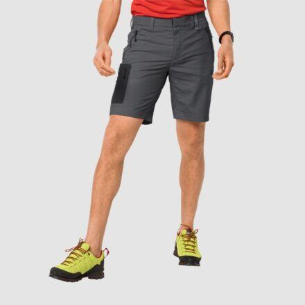 Jack Wolfskin Men's Active Track Shorts Dark Iron