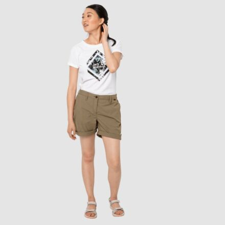 Jack Wolfskin Women's Desert Shorts Sand Dune