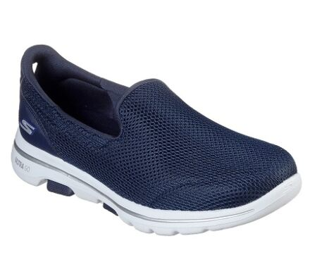 Skechers GoWalk 5 Navy/White Clearance -EU 37 (UK 4)