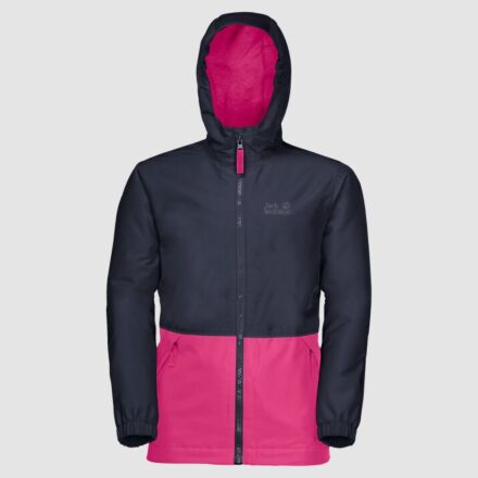 Jack Wolfskin Snowy Days Jacket Pink Peony