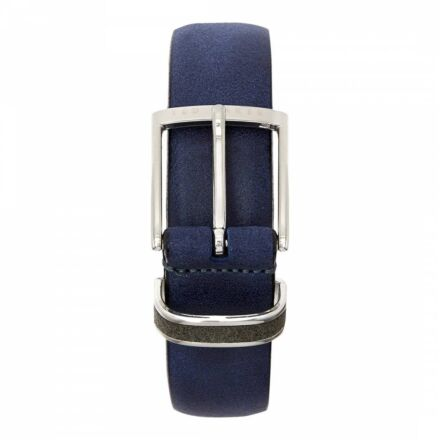 Crew Clothing Men's Nubuck Belt Navy