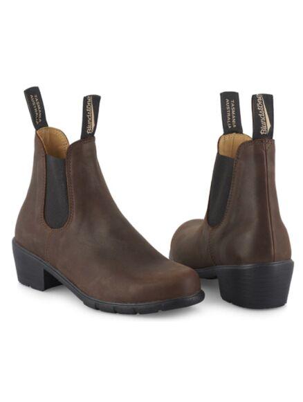 Blundstone 1673 Women's Heel Boot Antique Brown