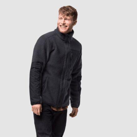 Jack Wolfskin Men's Kingsway Fleece Jacket Phantom