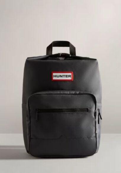 Hunter Nylon Pioneer Topclip Backpack Navy