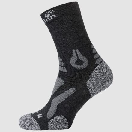 Jack Wolfskin Hiking Pro Classic Cut Socks Dark Grey