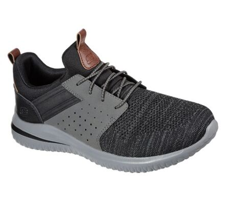Skechers Delson 3.0 - Cicada Black/Grey