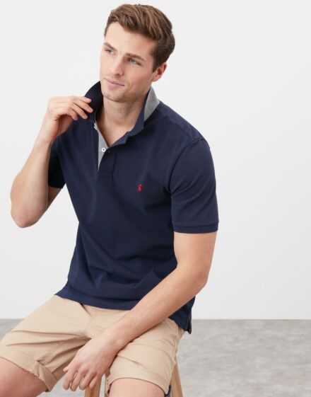 Joules Woody Classic Polo Shirt French Navy