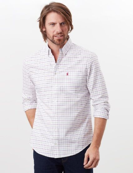 Joules Welford Long Sleeve Classic Shirt Multi Check